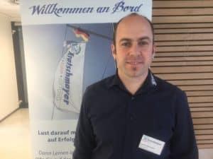 Umgang mit Stress und Druck im Job. Joachim Baumann kennt das.