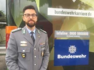 Erwachsen werden beim Bund. Hauptmann Hans Harald Brandel.