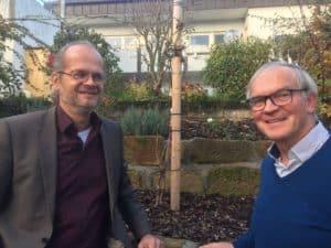 Beziehung ist alles, sagt Wolfgang Neumann (rechts) im Interview mit Great Growing Up.
