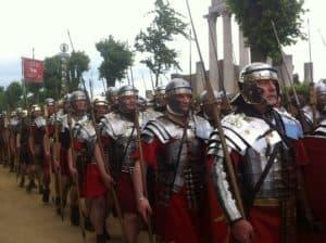 Zusammenarbeit - davon verstanden die römischen Legionäre etwas.